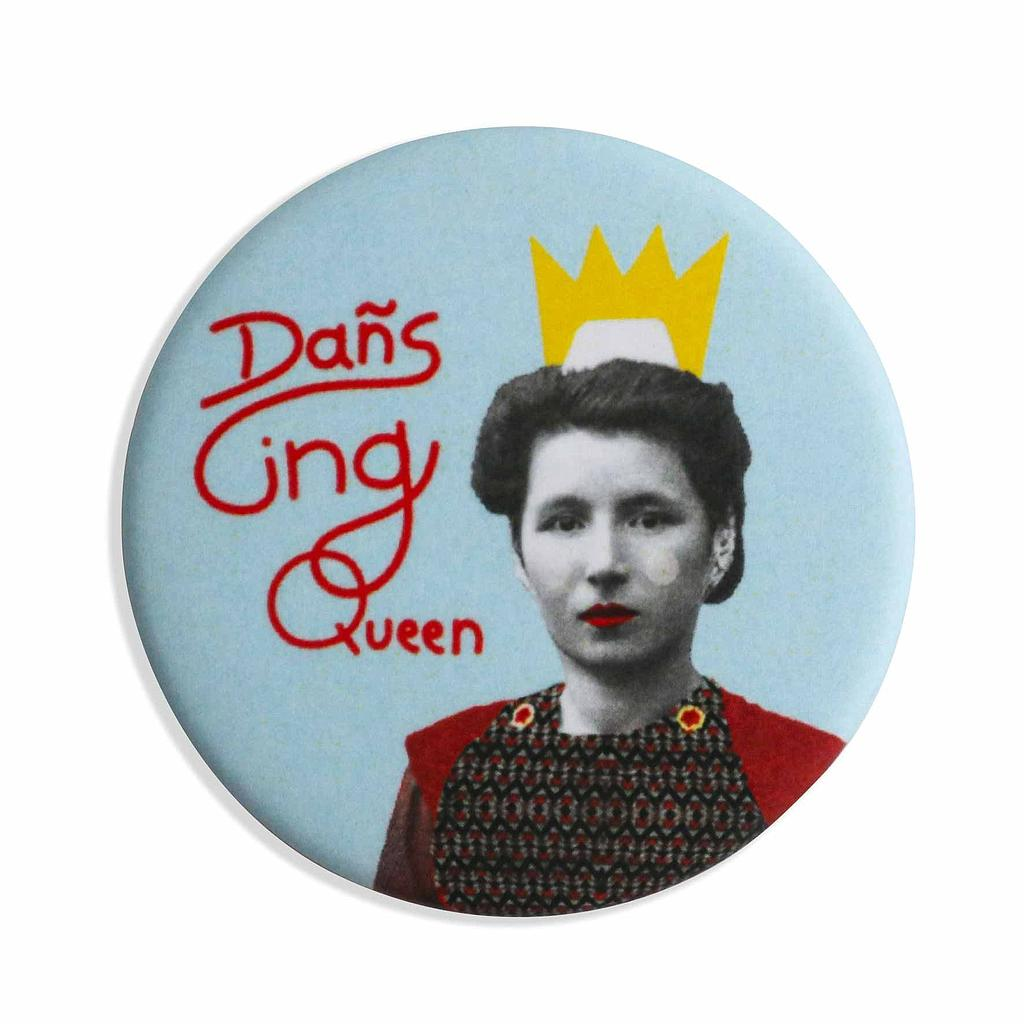 Badge Dansing Queen